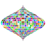 Prismatic Distorted Grid Globe 2