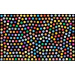 Prismatic Dots Background 2