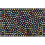 Prismatic Dots Background 3