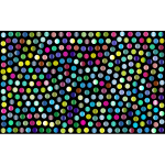 Prismatic Dots Background 4