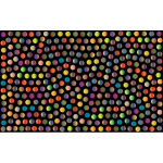 Prismatic Dots Background 5