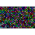Prismatic Dots Background