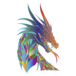 Prismatic Dragon Head