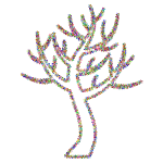 Prismatic Floral Simple Tree 2