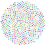 Prismatic Flower Formation Circles