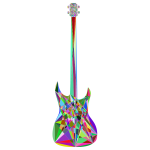 Prismatic Geometric Guitar