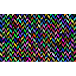 Prismatic Geometric Pattern Background