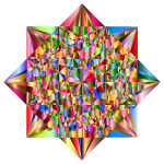 Prismatic Geometric Star 3