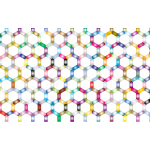 Prismatic Hexagonal Geometric Pattern 2 No Background