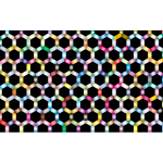Prismatic Hexagonal Geometric Pattern 2
