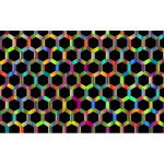 Prismatic Hexagonal Geometric Pattern 3