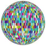 Prismatic Hexagonal Grid Sphere Variation 2 5