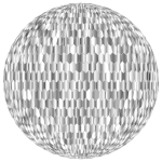 Prismatic Hexagonal Grid Sphere Variation 2 7