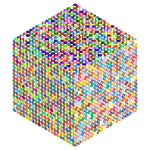 Prismatic Isometric Circles Cube