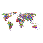Prismatic Jigsaw Puzzle World Map 7