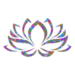 Prismatic Lotus Flower 5