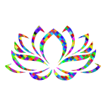 Prismatic Lotus Flower