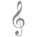 Prismatic Low Poly Clef High Detail