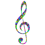 Prismatic Low Poly Clef