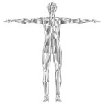 Prismatic Low Poly Human Male Variation 3