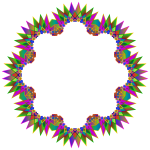 Prismatic MultiPoint Star Frame 3