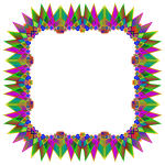 Prismatic MultiPoint Star Frame 4