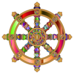 Prismatic dharma wheel