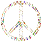 Prismatic People For Peace Mark II 6 No Background