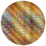 Prismatic Polka Dots Mark II Sphere 2