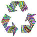 Prismatic Recycling Symbol
