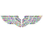 Prismatic Tiled Eagle Wings