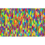 Prismatic Triangular Background Design Mark II 3