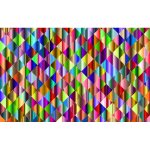 Prismatic Triangular Background Design Mark II 7