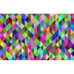Prismatic Triangular Background Design Mark II