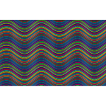 Prismatic Waves Background