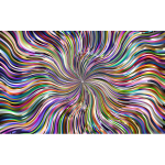 Prismatic Waves Starburst 9