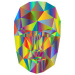 Prismatic Wireframe Head 2