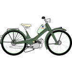 NSU Quickly N vector drawing