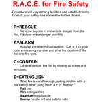 RACE for Fire Safety