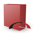 RPM Package Manager application icon vector drawing