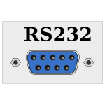 RS232 / COM port connector