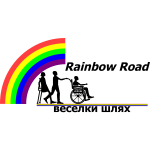 Rainbow  Road logo color
