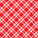 Red Gingham Checkered Background