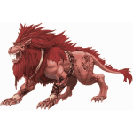 Red Lion vector