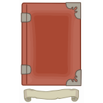 Red tome template