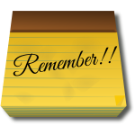 Remember post-it
