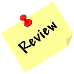 ''Review'' on post it