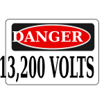Rfc1394 Danger 13 200 Volts Alt 1