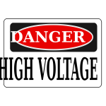 Rfc1394 Danger High Voltage Alt 3