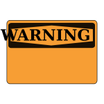 Rfc1394 Warning Blank orange